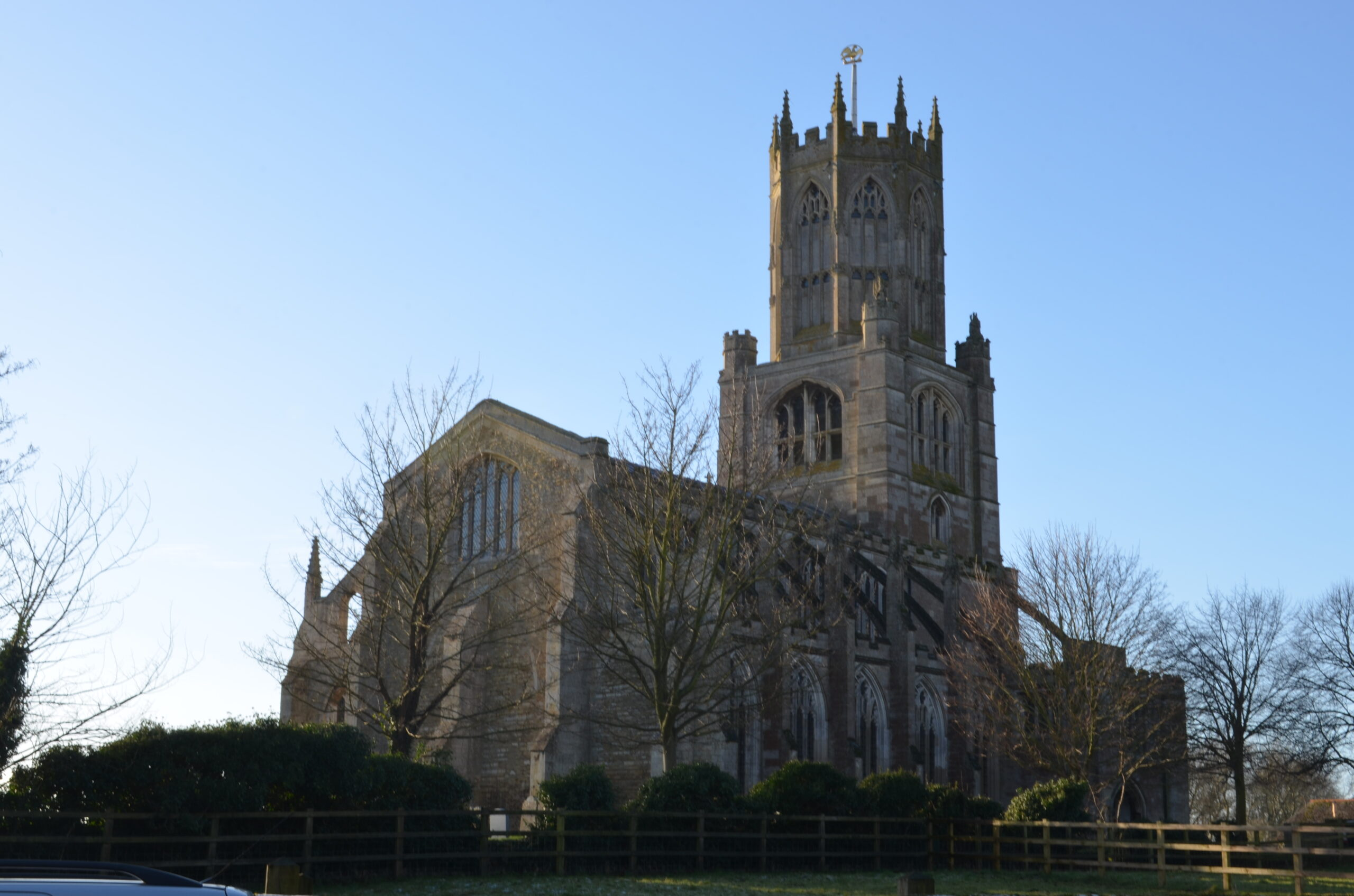 The church of St. Mary and All Saints, Fotheringhay